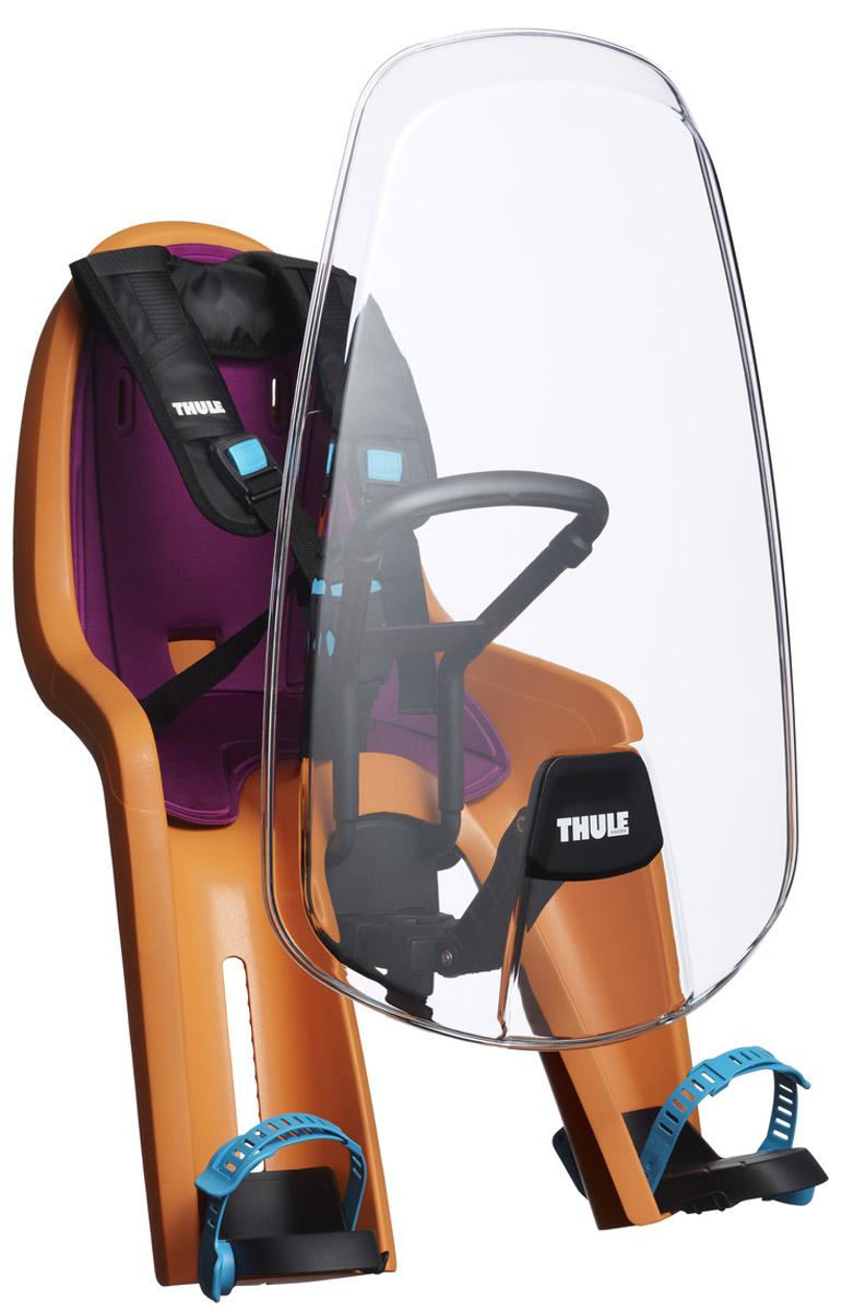 Защитный козырек Thule Ride Along Mini Windsceen100405Защитный экран от ветра Thule RideAlong Mini защищает вашего ребенка от ветра и насекомых с помощью полностью прозрачного и прочного материала.