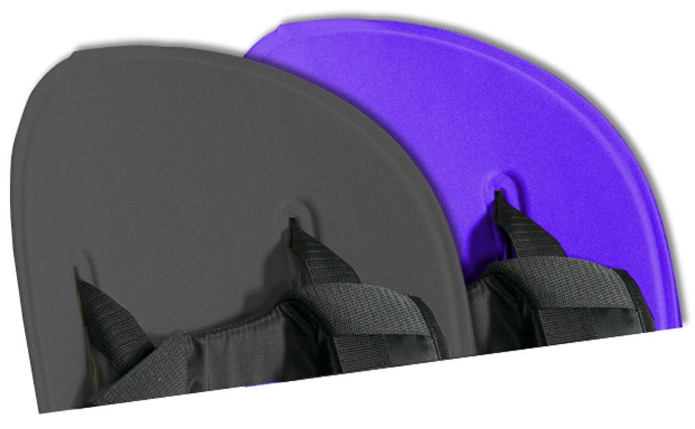 Вкладыш для велосидения велокресла Thule Ride Along, цвет: серый, фиолетовый100402Легко стирается и чистится благодаря водоотталкивающим свойствам. Два цветовых исполнения: светло-серый с оранжевым или темно-серый с фиолетовым