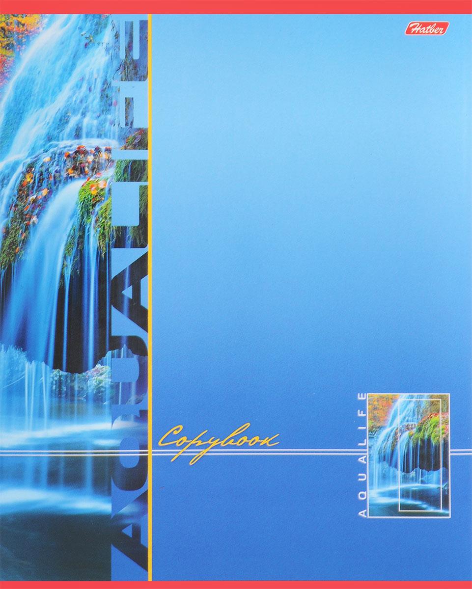 Hatber Тетрадь Аквалайф 80 листов в линейку цвет голубой80Т5В2_13737Тетрадь Hatber Аквалайф предназначена для объемных записей и незаменима для старшеклассников и студентов. Обложка, выполненная из плотного картона, позволит сохранить тетрадь в аккуратном состоянии на протяжении всего времени использования. Лицевая сторона оформлена красочным изображением водопада. Внутренний блок тетради, соединенный двумя металлическими скрепками, состоит из 80 листов белой бумаги в голубую линейку с полями.