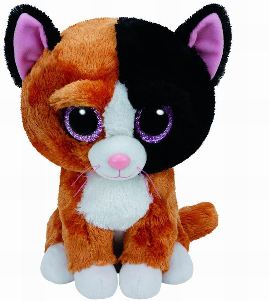 TY Beanie Boos Мягкая игрушка Котенок Tauri 25 см37064Замечательная мягкая игрушка серии TY станет самым лучшим другом вашему малышу. Особенность игрушки в том, что она понравится как мальчикам , так и девочкам. Замечательный игрушки TY с невероятно добрыми искренними глазками еще никого не оставлял равнодушным! Игрушка развивает: - тактильные навыки, - зрительную координацию, - мелкую моторику рук. От 3-х лет.