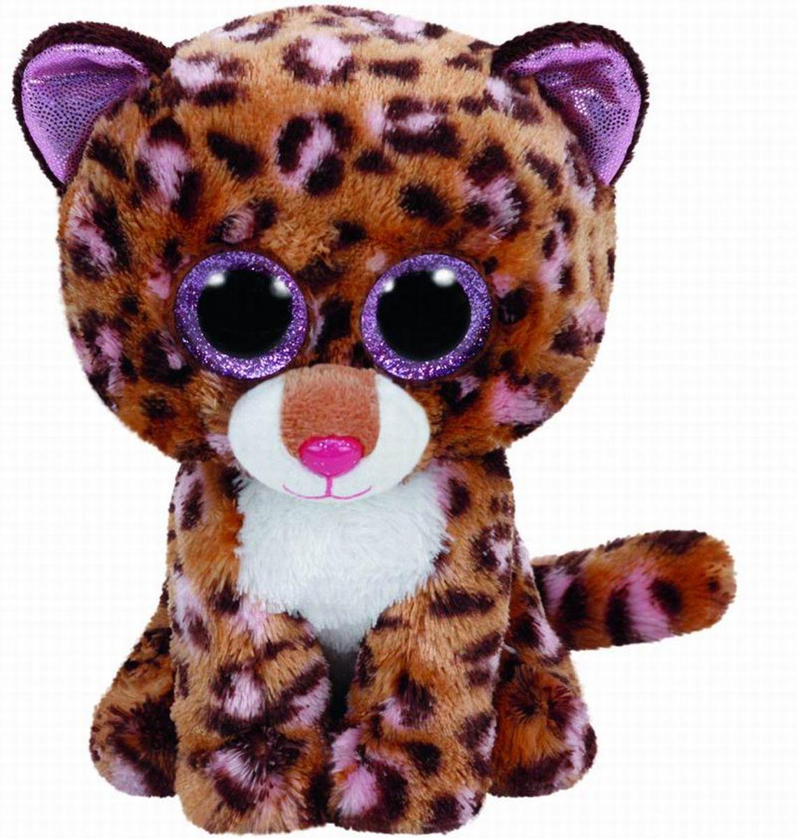 TY Beanie Boos Мягкая игрушка Леопард Patches 15см37177Замечательная мягкая игрушка серии TY станет самым лучшим другом вашему малышу. Особенность игрушки в том, что она понравится как мальчикам , так и девочкам. Замечательный игрушки TY с невероятно добрыми искренними глазками еще никого не оставлял равнодушным! Игрушка развивает: - тактильные навыки, - зрительную координацию, - мелкую моторику рук. От 3-х лет.