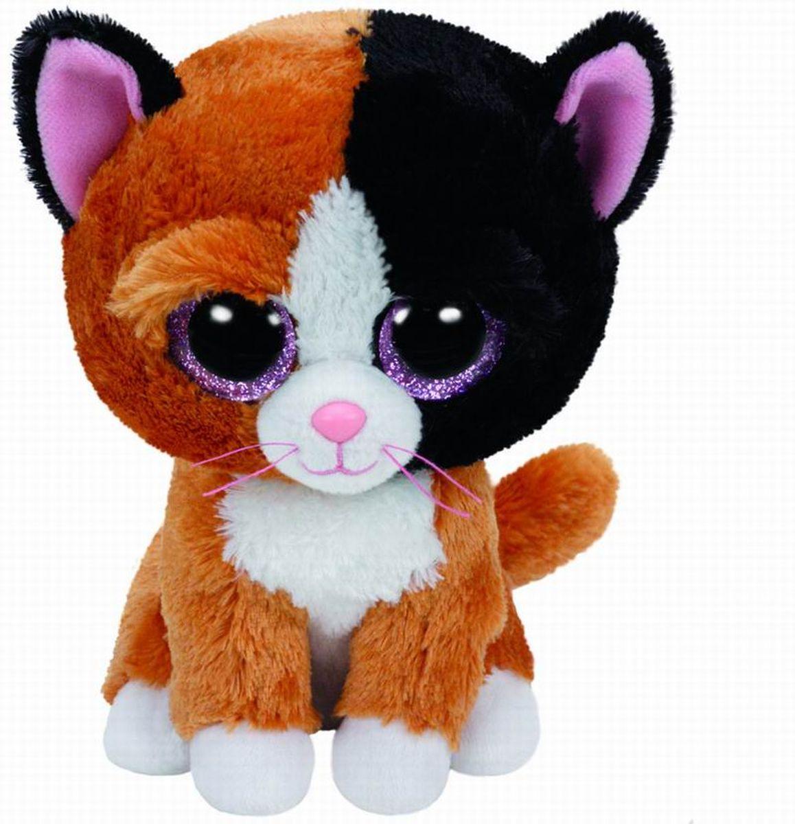 TY Beanie Boos Мягкая игрушка Котенок Tauri 15 см37178Замечательная мягкая игрушка серии TY станет самым лучшим другом вашему малышу. Особенность игрушки в том, что она понравится как мальчикам , так и девочкам. Замечательный игрушки TY с невероятно добрыми искренними глазками еще никого не оставлял равнодушным! Игрушка развивает: - тактильные навыки, - зрительную координацию, - мелкую моторику рук. От 3-х лет.