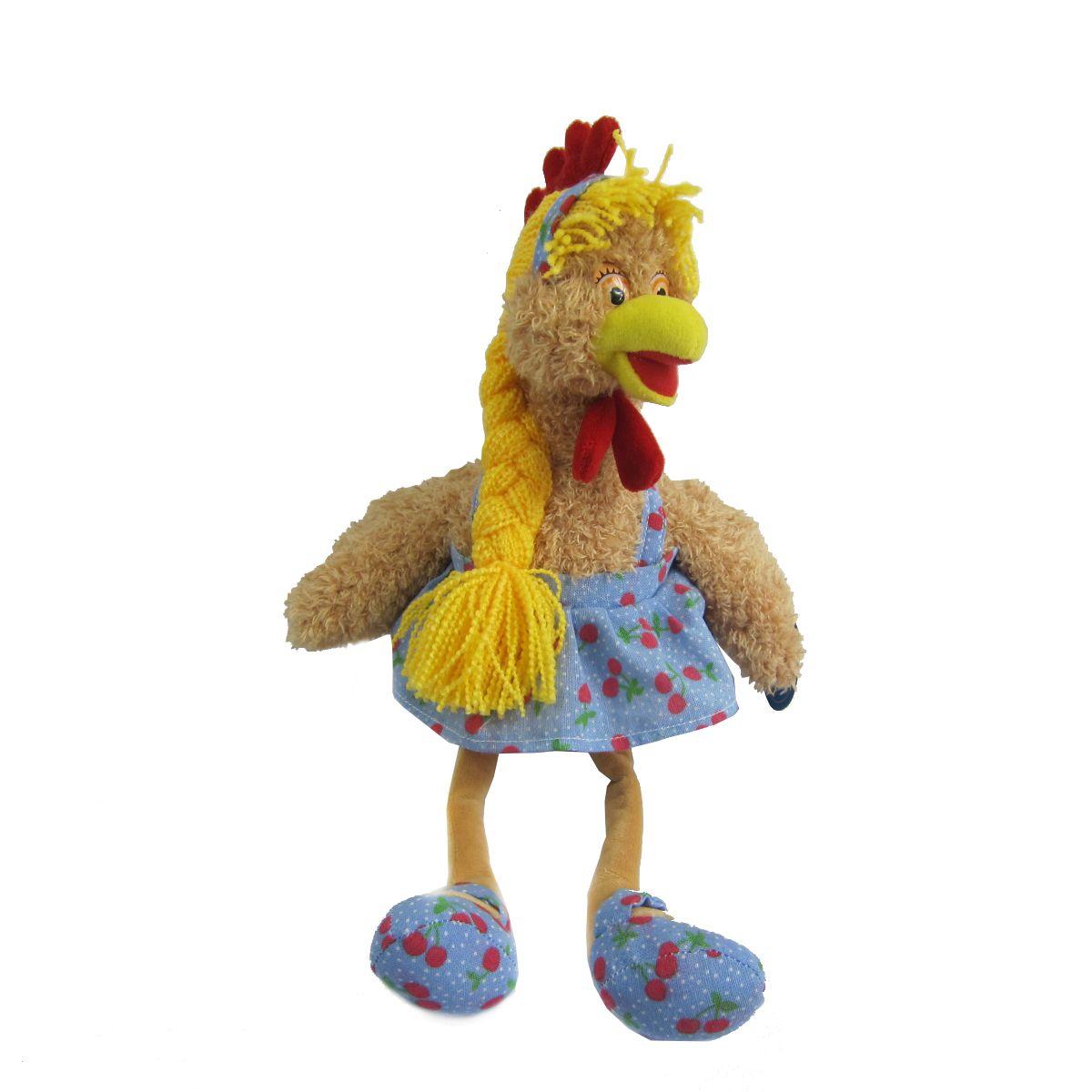 Chuzhou Greenery Yoys Мягкая игрушка Курочка с косичкой в платье 20 смYSL17179Символ года – ежегодно обновляемая коллекция, которая зачастую радует взрослых даже больше, чем детей. Год 2017 ознаменован годом Огненного Петуха, представляем Вам очень симпатичных персонажей .Каждый герой имеет свой образ, характер, с разными одеждами и аксессуарами. От 3-х лет.