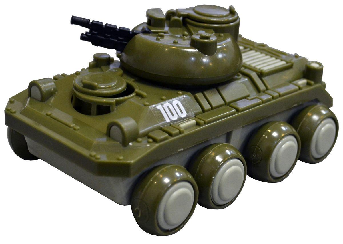 Форма БМП Детский садС-116-ФВоенный бронированный танк предназначен для транспортировки личного состава пехоты к месту назначения. Эта игрушечная модель создана по образу и подобию оригинала. Большие колеса позволяют следовать по различного-рода поверхностям, ровным и бугристым. Башня с пушкой позволят защитить личный состав от нападения, ведь оружие, которым оснащен автомобиль может поворачиваться в разные стороны и выбирать высоту прицела. Три люка, позволяющие попасть внутрь «БМП», открываются и закрываются. Из чего сделана игрушка (состав): Пластик.