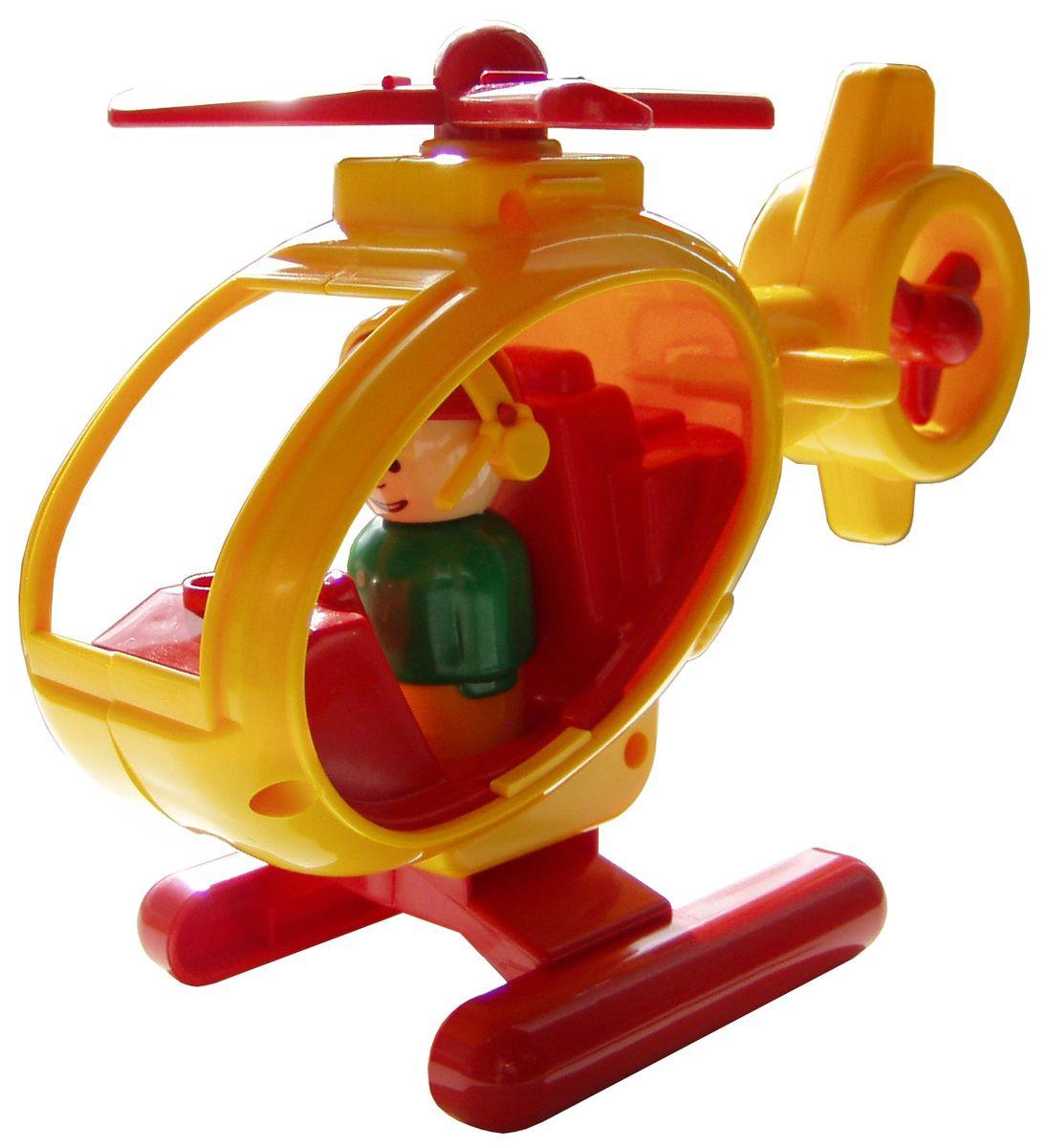 Форма Вертолет Детский сад цвет желтыйС-122-ФВертолет Форма Детский сад - это яркая игрушка, сделанная из качественного материала. Основной и хвостовой пропеллеры вращаются. В комплекте с вертолетом идет фигурка пилота. Фигурку можно вынуть из вертолета и играть с ней отдельно. Интересная форма и движущиеся элементы принесут массу радостных эмоций малышу!
