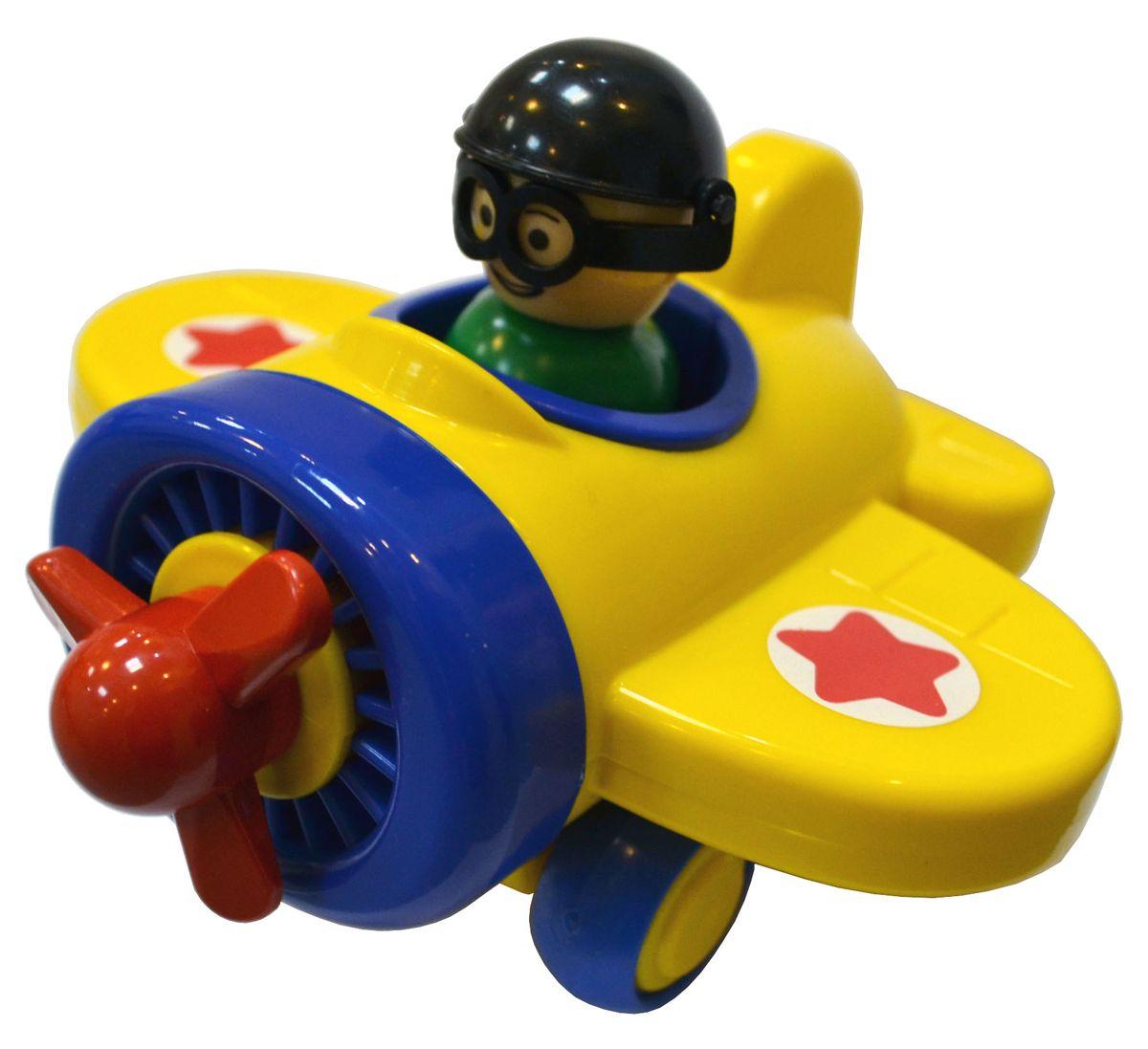 Форма Самолетик Детский садС-123-ФИгрушка Самолетик детский сад - это занимательная игрушка для мальчика. Игрушечный самолет с вращающимся пропеллером и с колесами из ПВХ (поливинилхлорид). Самолет с колесами, благодаря которым самолет можно пускать по полу кататься, оснащен инерционным механизмом. В кабине самолета есть фигурка пилота, которого можно вынуть из самолета.