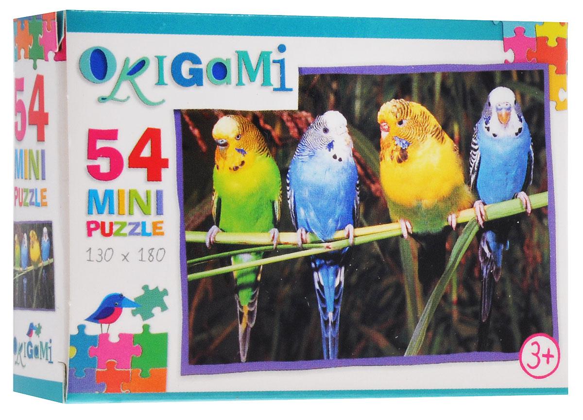 Оригами Пазл для малышей Попугаи5411_1Красочный пазл Оригами Попугаи - наилучшее решение для развития вашего малыша. Собирая картинку из 54 элементов, малыш учится соотносить отдельные элементы в целое изображение, подбирать фрагменты по цвету и форме. Пазл поможет развить у малыша мелкую моторику рук, цветовосприятие, воображение и логическое мышление, научит видеть большое в малом. Вознаграждением за усердие будет красивая картинка.