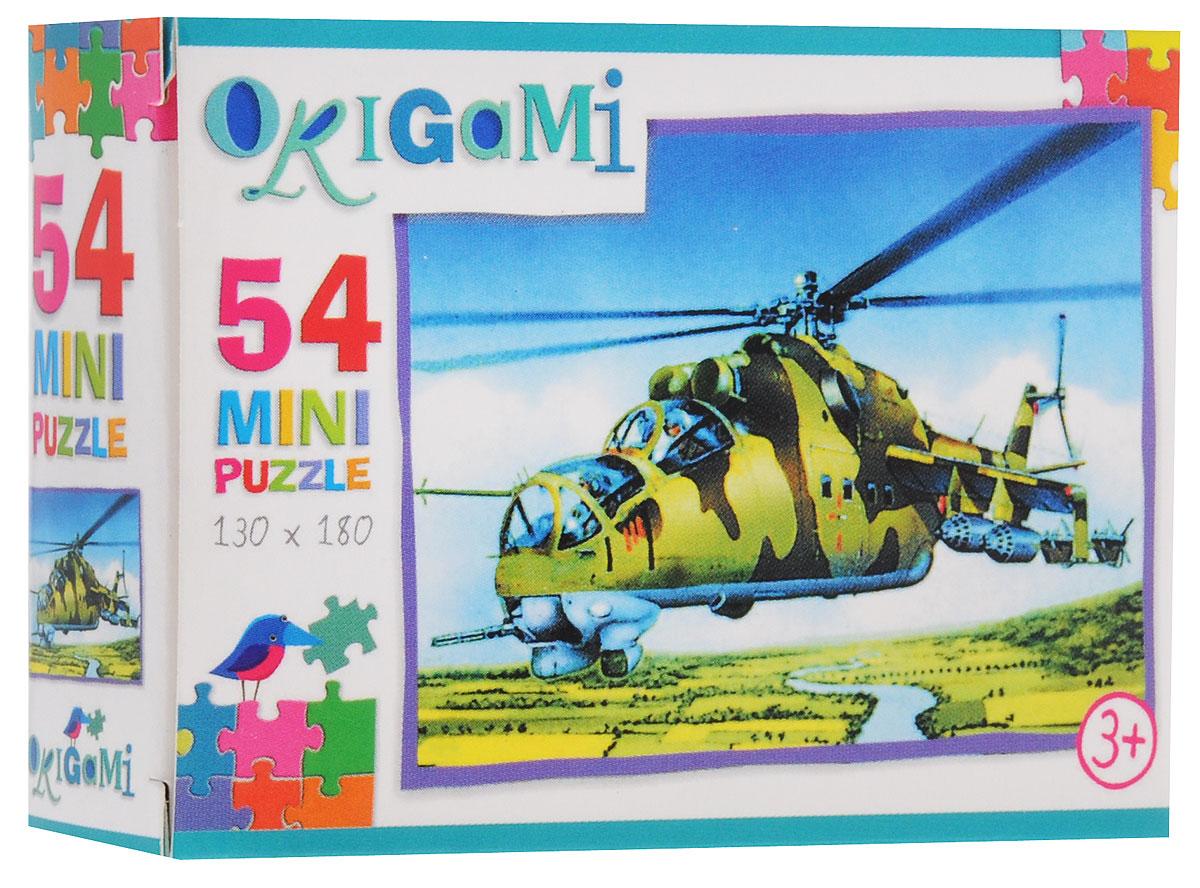 Оригами Пазл для малышей Вертолет Ми-24
