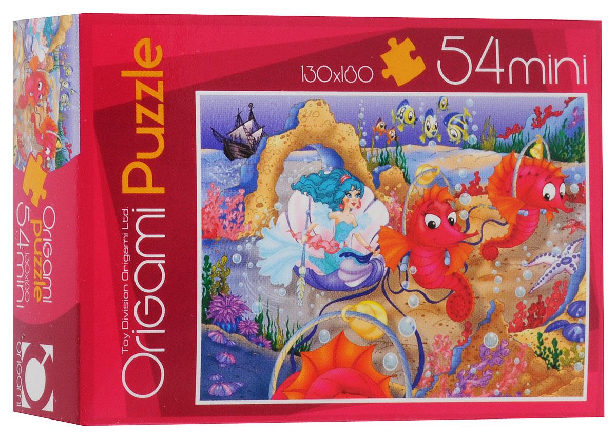 Оригами Пазл для малышей Русалочка