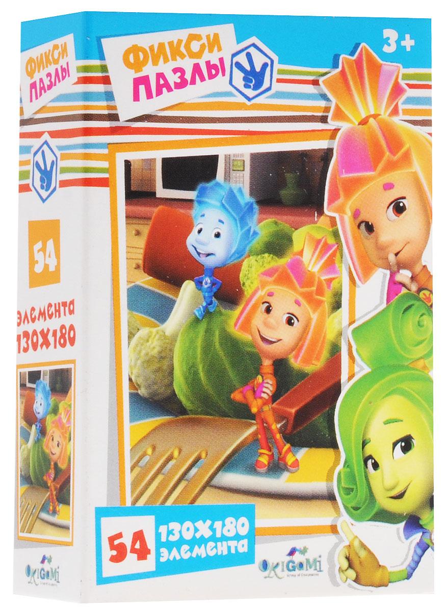 Оригами Пазл для малышей Фиксики Тарелка