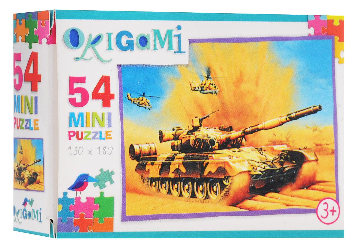 Оригами Пазл для малышей Танк и вертолеты