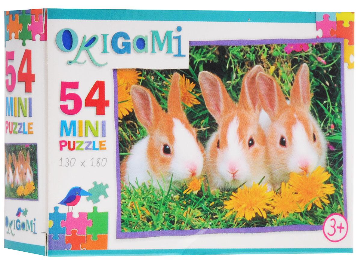 Оригами Пазл для малышей Кролики