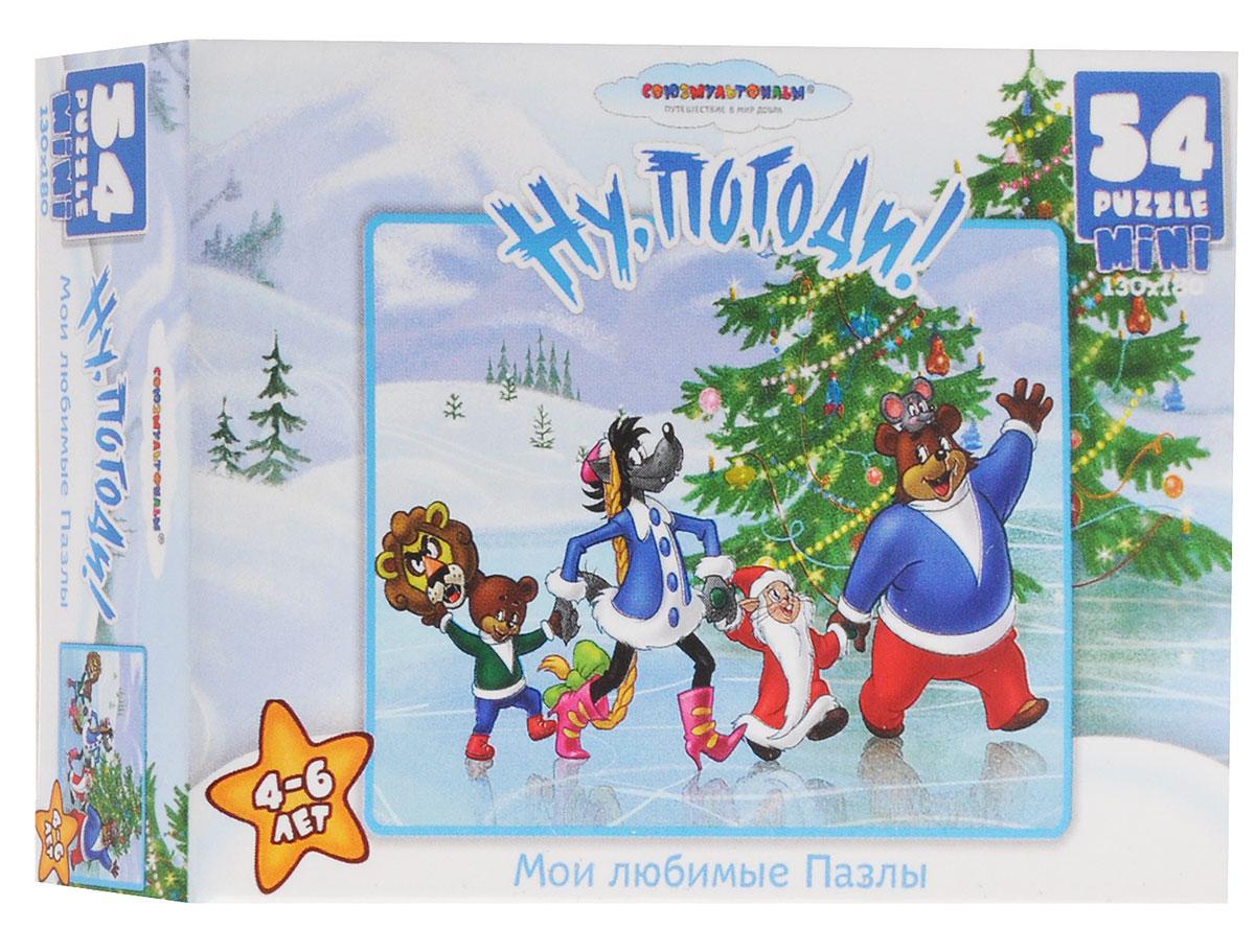 Оригами Пазл для малышей Ну погоди Дед Мороз и Снегурочка 10833_3