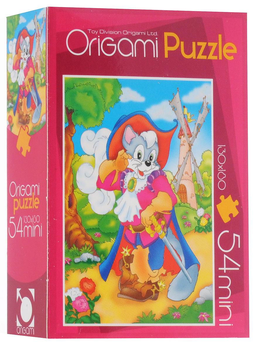 Оригами Пазл для малышей Кот в сапогах