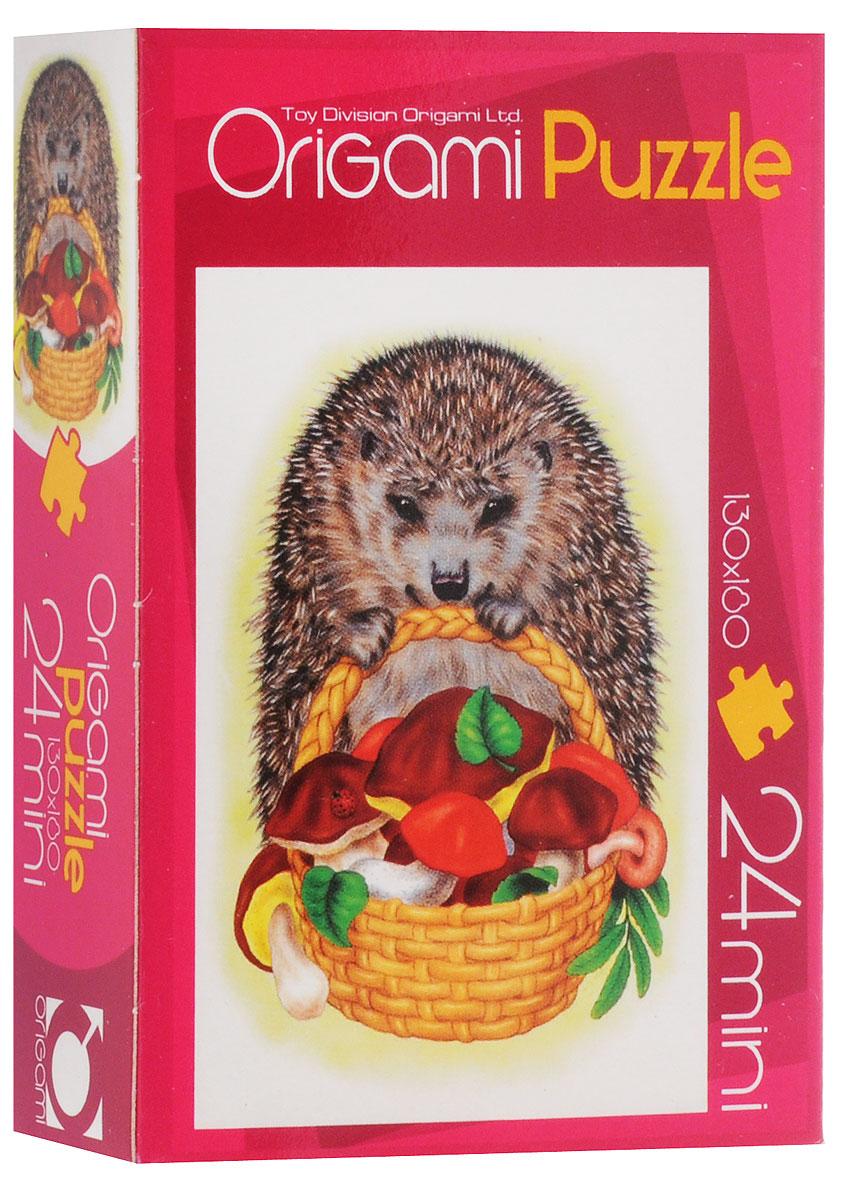 Оригами Пазл для малышей Ежик1847_3Красочный пазл Оригами Ежик - наилучшее решение для развития вашего малыша. Собирая картинку из 24 элементов, малыш учится соотносить отдельные элементы в целое изображение, подбирать фрагменты по цвету и форме. Элементы пазла имеют большие размеры, благодаря чему ребенку будет удобно собирать картинку. Пазл поможет развить у малыша мелкую моторику рук, цветовосприятие, воображение и логическое мышление, научит видеть большое в малом. Вознаграждением за усердие будет красивая картинка.