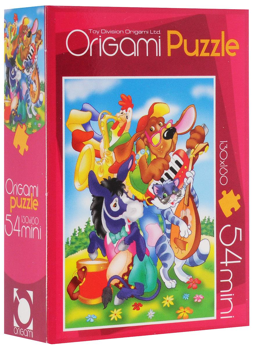 Оригами Пазл для малышей Бременские музыканты4101_3Красочный пазл Оригами Бременские музыканты - наилучшее решение для развития вашего малыша. Собирая картинку из 54 элементов, малыш учится соотносить отдельные элементы в целое изображение, подбирать фрагменты по цвету и форме. Пазл поможет развить у малыша мелкую моторику рук, цветовосприятие, воображение и логическое мышление, научит видеть большое в малом. Вознаграждением за усердие будет красивая картинка.