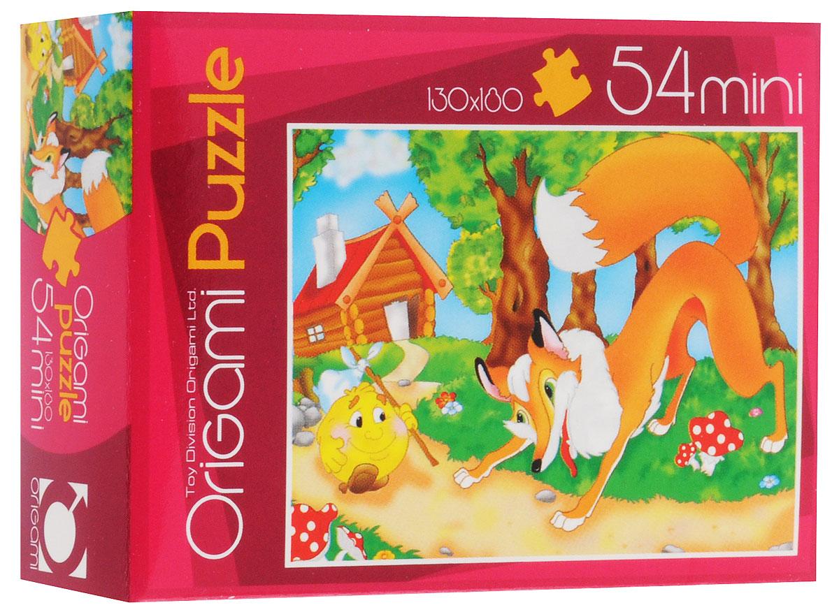 Оригами Пазл для малышей Колобок 4101_14101_1Красочный пазл Оригами Колобок - наилучшее решение для развития вашего малыша. Собирая картинку из 54 элементов, малыш учится соотносить отдельные элементы в целое изображение, подбирать фрагменты по цвету и форме. Пазл поможет развить у малыша мелкую моторику рук, цветовосприятие, воображение и логическое мышление, научит видеть большое в малом. Вознаграждением за усердие будет красивая картинка.