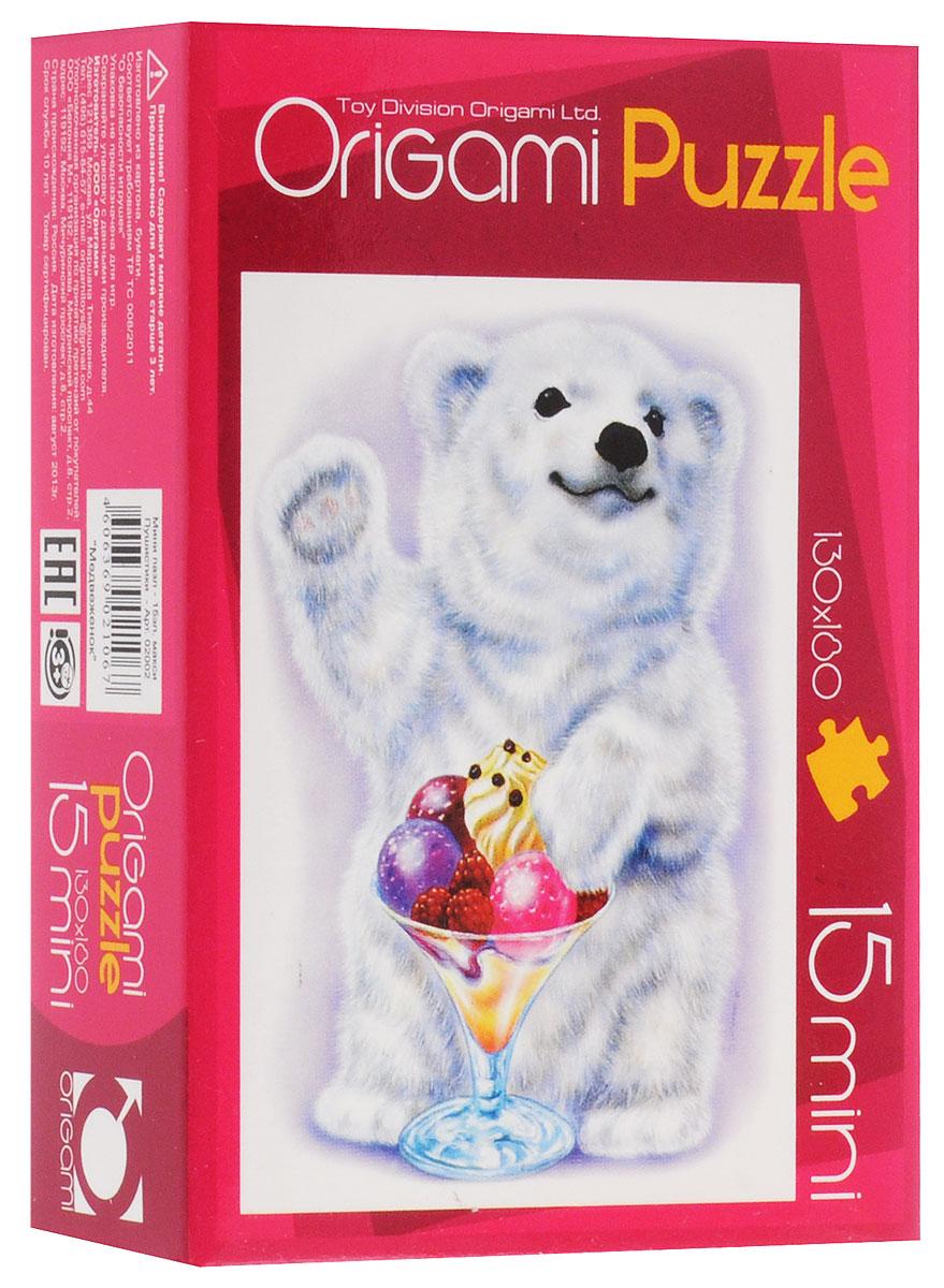 Оригами Пазл для малышей Медвежонок2002_3Красочный пазл Оригами Медвежонок - наилучшее решение для развития вашего малыша. Собирая картинку из 15 элементов, малыш учится соотносить отдельные элементы в целое изображение, подбирать фрагменты по цвету и форме. Элементы пазла имеют большие размеры, благодаря чему ребенку будет удобно собирать картинку. Пазл поможет развить у малыша мелкую моторику рук, цветовосприятие, воображение и логическое мышление, научит видеть большое в малом. Вознаграждением за усердие будет красивая картинка.