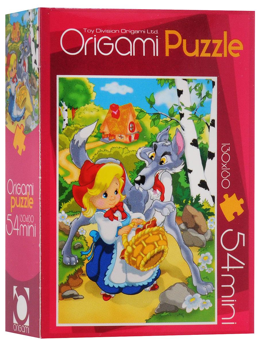 Оригами Пазл для малышей Красная шапочка4101_4Красочный пазл Оригами Красная шапочка - наилучшее решение для развития вашего малыша. Собирая картинку из 54 элементов, малыш учится соотносить отдельные элементы в целое изображение, подбирать фрагменты по цвету и форме. Пазл поможет развить у малыша мелкую моторику рук, цветовосприятие, воображение и логическое мышление, научит видеть большое в малом. Вознаграждением за усердие будет красивая картинка.