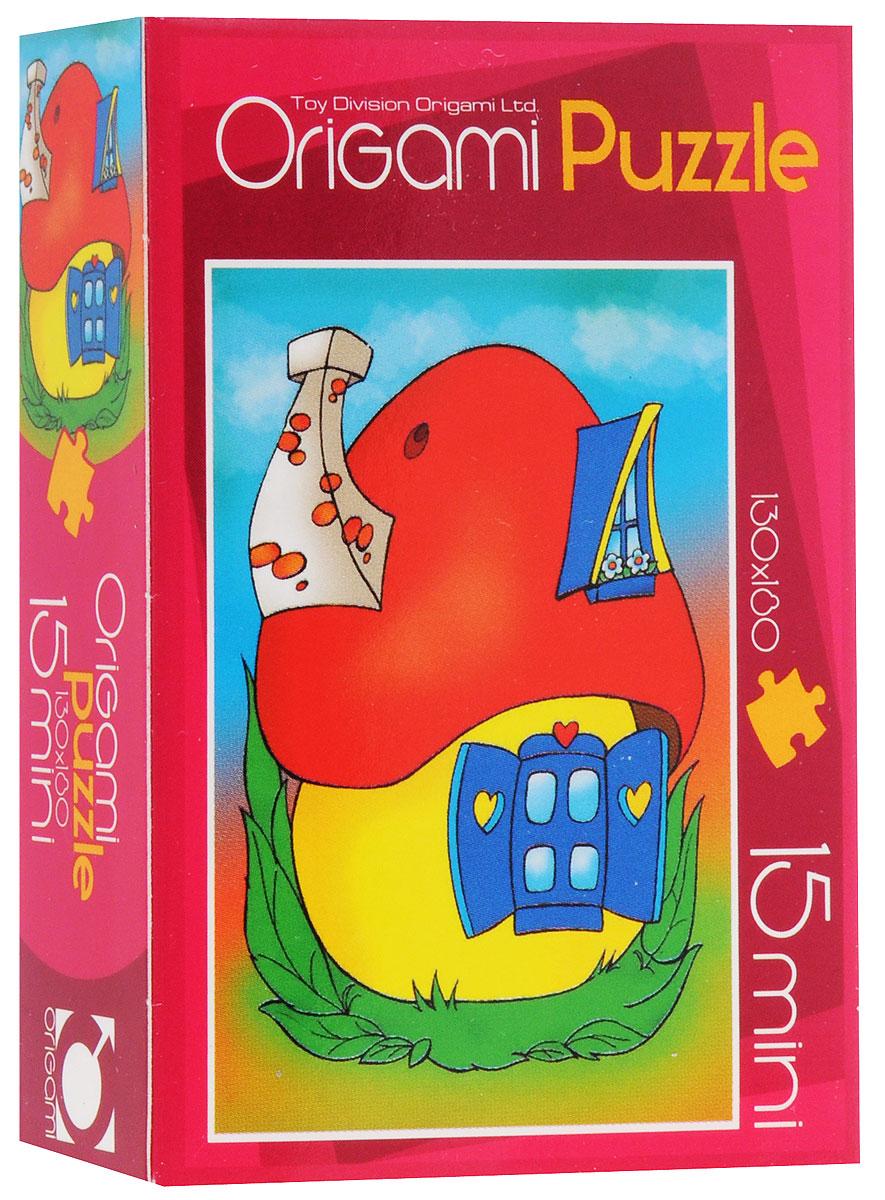 Оригами Пазл для малышей Домик2003_1Красочный пазл Оригами Домик - наилучшее решение для развития вашего малыша. Собирая картинку из 15 элементов, малыш учится соотносить отдельные элементы в целое изображение, подбирать фрагменты по цвету и форме. Элементы пазла имеют большие размеры, благодаря чему ребенку будет удобно собирать картинку. Пазл поможет развить у малыша мелкую моторику рук, цветовосприятие, воображение и логическое мышление, научит видеть большое в малом. Вознаграждением за усердие будет красивая картинка.