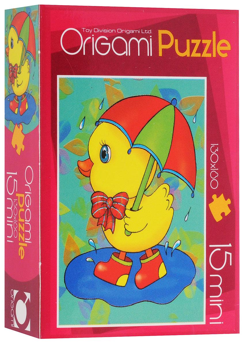 Оригами Пазл для малышей Цыпленок2003_2Красочный пазл Оригами Цыпленок - наилучшее решение для развития вашего малыша. Собирая картинку из 15 элементов, малыш учится соотносить отдельные элементы в целое изображение, подбирать фрагменты по цвету и форме. Элементы пазла имеют большие размеры, благодаря чему ребенку будет удобно собирать картинку. Пазл поможет развить у малыша мелкую моторику рук, цветовосприятие, воображение и логическое мышление, научит видеть большое в малом. Вознаграждением за усердие будет красивая картинка.