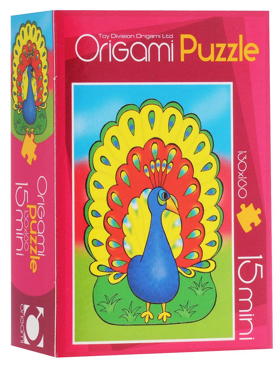 Оригами Пазл для малышей Павлин2003_6Красочный пазл Оригами Павлин - наилучшее решение для развития вашего малыша. Собирая картинку из 15 элементов, малыш учится соотносить отдельные элементы в целое изображение, подбирать фрагменты по цвету и форме. Элементы пазла имеют большие размеры, благодаря чему ребенку будет удобно собирать картинку. Пазл поможет развить у малыша мелкую моторику рук, цветовосприятие, воображение и логическое мышление, научит видеть большое в малом. Вознаграждением за усердие будет красивая картинка.