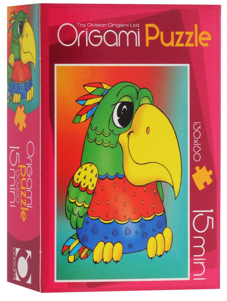 Оригами Пазл для малышей Попугай2003_3Красочный пазл Оригами Попугай - наилучшее решение для развития вашего малыша. Собирая картинку из 15 элементов, малыш учится соотносить отдельные элементы в целое изображение, подбирать фрагменты по цвету и форме. Элементы пазла имеют большие размеры, благодаря чему ребенку будет удобно собирать картинку. Пазл поможет развить у малыша мелкую моторику рук, цветовосприятие, воображение и логическое мышление, научит видеть большое в малом. Вознаграждением за усердие будет красивая картинка.