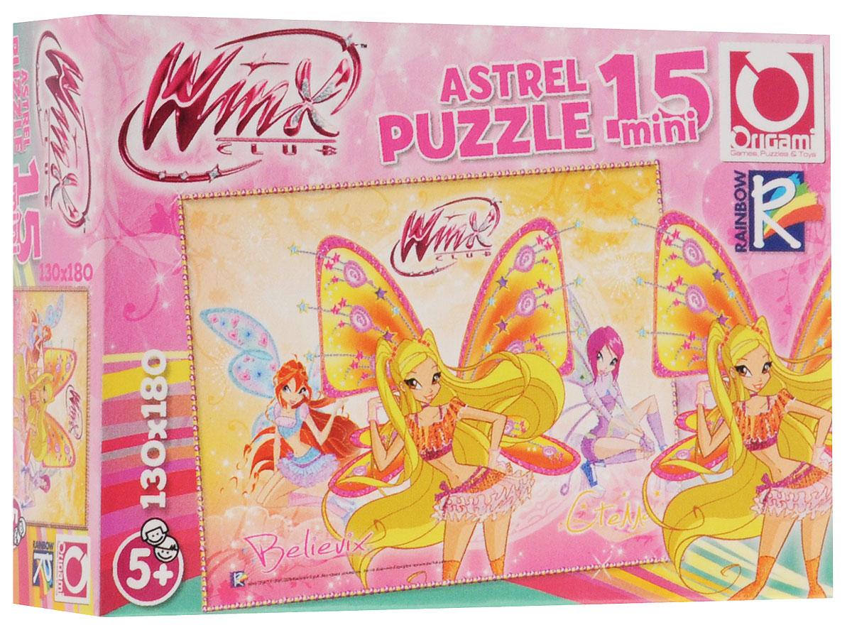 Оригами Пазл для малышей Стелла8420_2Красочный пазл Оригами Стелла - наилучшее решение для развития вашего малыша. Собирая картинку из 15 элементов, малыш научится соотносить отдельные элементы в целое изображение, подбирать фрагменты по цвету и форме. Яркие, стильные феи на поле пазла поведают о своих приключениях. Элементы пазла имеют большие размеры, благодаря чему ребенку будет удобно собирать картинку. Составление пазла станет увлекательным и развивающим досугом для малыша и подарит хорошее настроение. Пазл поможет развить у малыша мелкую моторику рук, цветовосприятие, воображение и логическое мышление, научит видеть большое в малом. Вознаграждением за усердие будет красивая картинка.