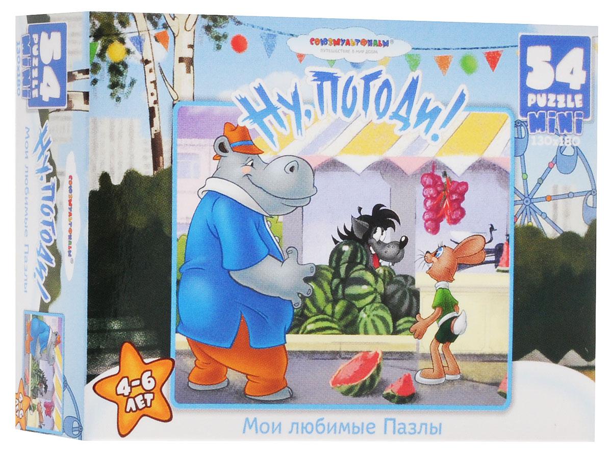 Оригами Пазл для малышей Ну погоди Волк и арбуз10833_1Красочный пазл Оригами Ну, погоди! - наилучшее решение для развития вашего малыша. Собирая картинку из 54 элементов, малыш научится соотносить отдельные элементы в целое изображение, подбирать фрагменты по цвету и форме. Озорные герои известного мультфильма на поле пазла расскажут малышу свои истории. Составление пазла станет увлекательным и развивающим досугом для малыша и подарит хорошее настроение. Пазл поможет развить у малыша мелкую моторику рук, цветовосприятие, воображение и логическое мышление, научит видеть большое в малом. Вознаграждением за усердие будет красивая картинка.