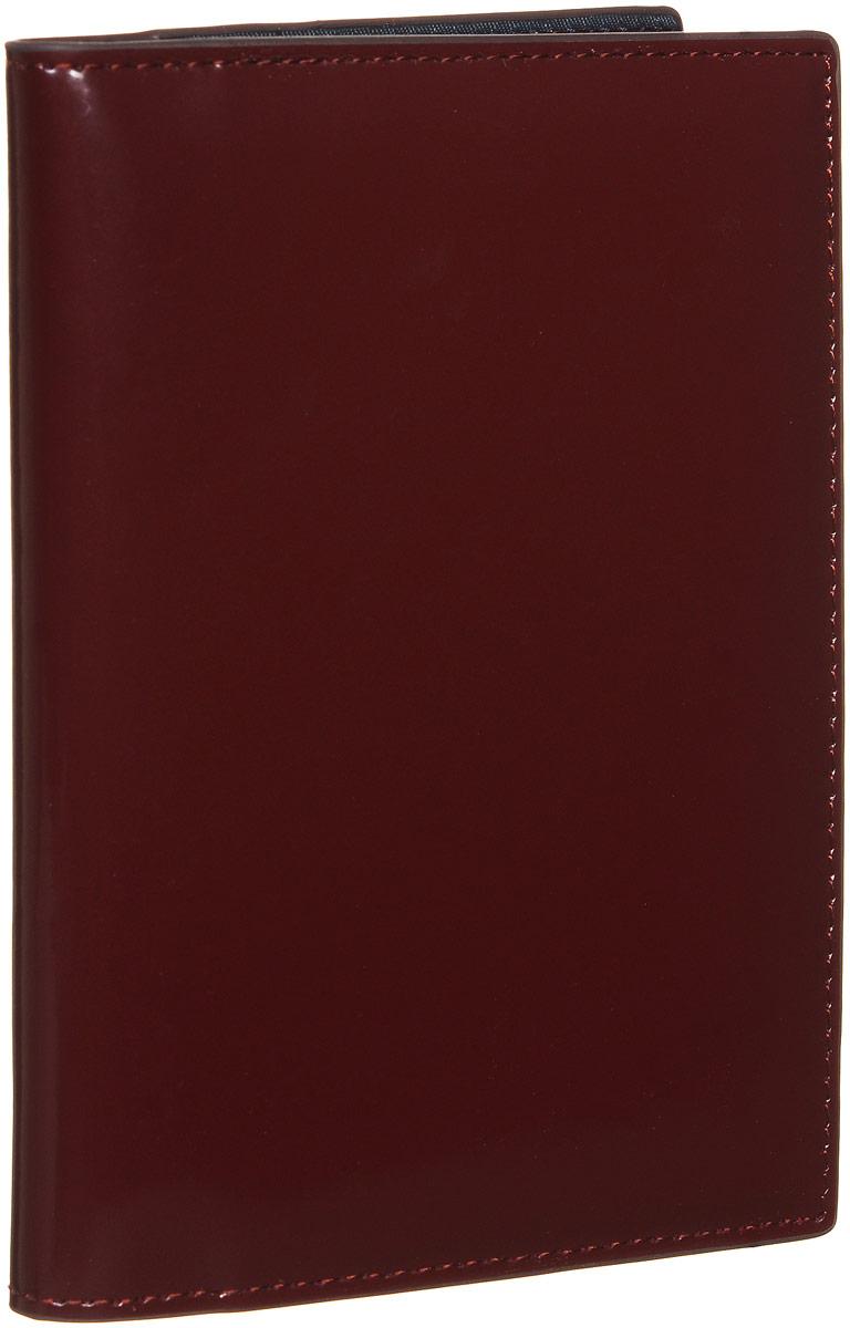 Обложка для документов женская Vitacci, цвет: бордовый. HS082HS082Стильная обложка для документов от Vitacci выполнена из натуральной гладкой кожи. Внутри расположено два боковых кармана, один из которых прозрачный и пять карманов для визиток. Также внутри находится съемный блок из шести прозрачных файлов из мягкого пластика, один из которых формата А5, а также четыре накладных кармана для визиток или кредитных карт. Изделие упаковано в фирменную коробку. Такая обложка для документов идеально подойдет для любого образа и сохранит ваши документы.