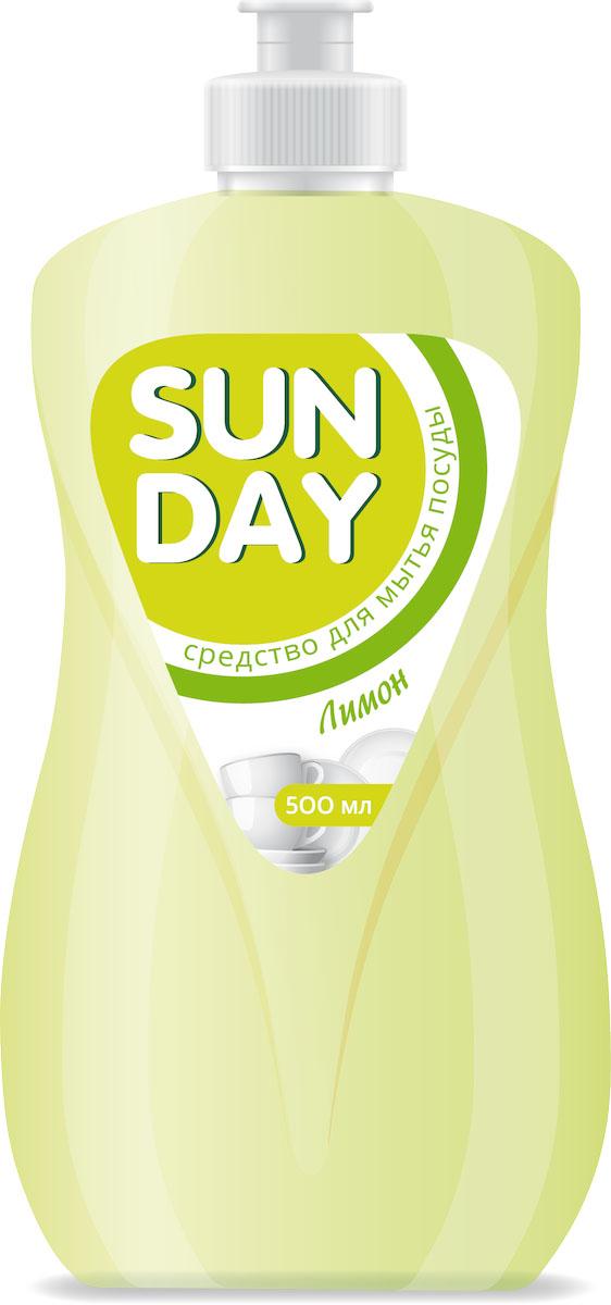 Средство для мытья посуды Sunday Лимон, 500 мл4814628005288