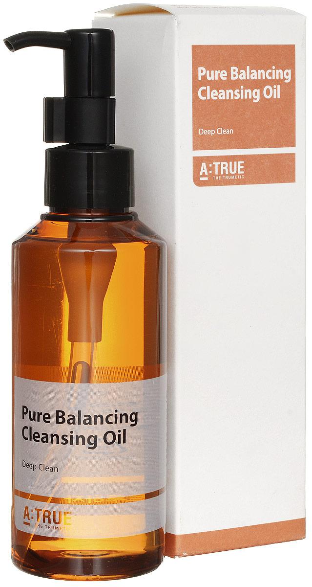 A-True Масло Гидрофильное Очищающее Для Снятия Макияжа, 150 мл.AT860088Гидрофильное масло с натуральными маслами эффективно удаляет ББ крем и стойкий макияж. Кожа остается мягкой, ухоженной и увлажненной.
