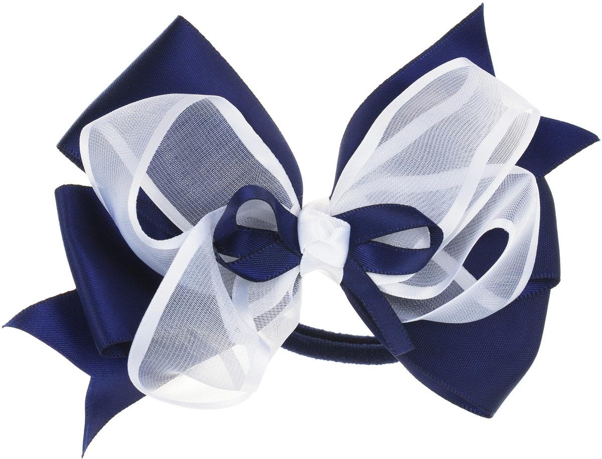 Babys Joy Бант для волос на резинке цвет синий, белый MN 213MN 213_синий, белыйБант для волос на резинке Babys Joy состоит из большого двойного банта из атласа и капрона разной ширины. Бант на резинке позволит не только убрать непослушные волосы с лица, но и придать образу романтичности и очарования. Такой аксессуар для волос подчеркнет уникальность вашей маленькой модницы и станет прекрасным дополнением к ее неповторимому стилю.