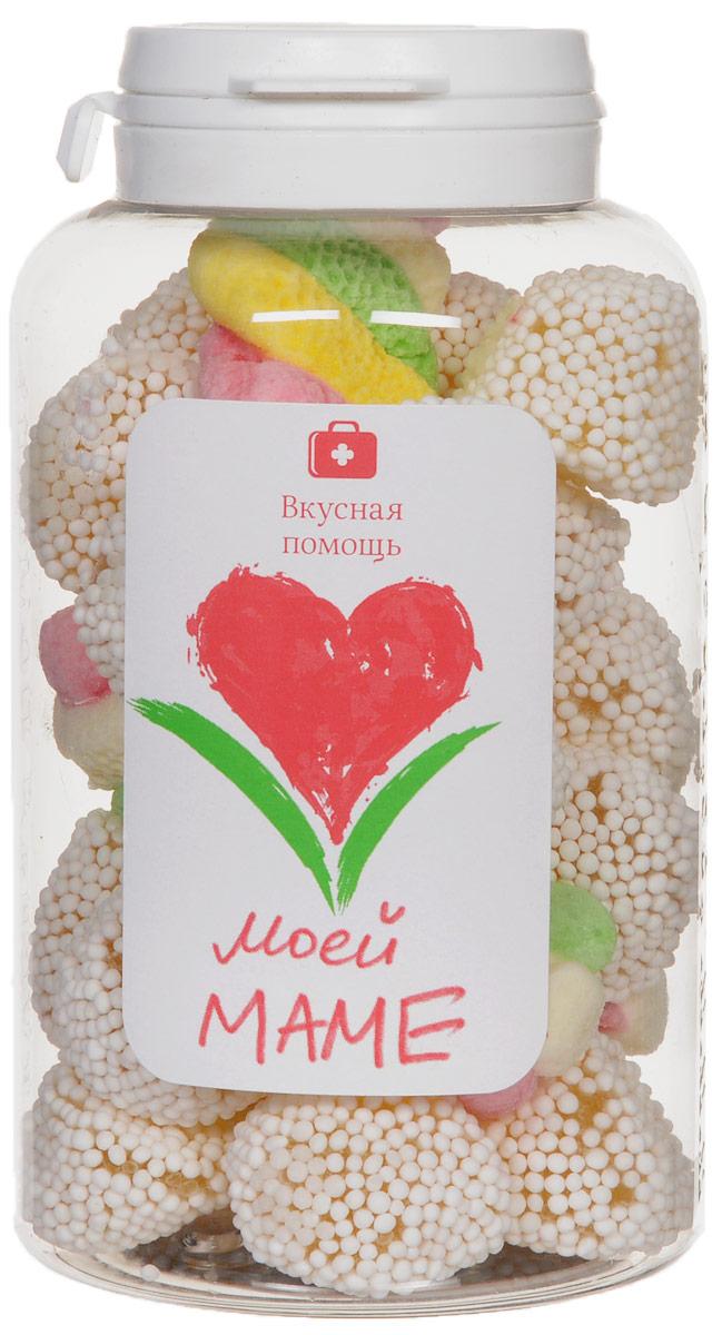 Вкусная помощь Конфеты Моей маме, 178 г00-00000046Вкусная помощь Конфеты Моей маме - фруктовый мармелад в нежной сахарной обсыпке в миксе с нежным клубнично-сливочным суфле.