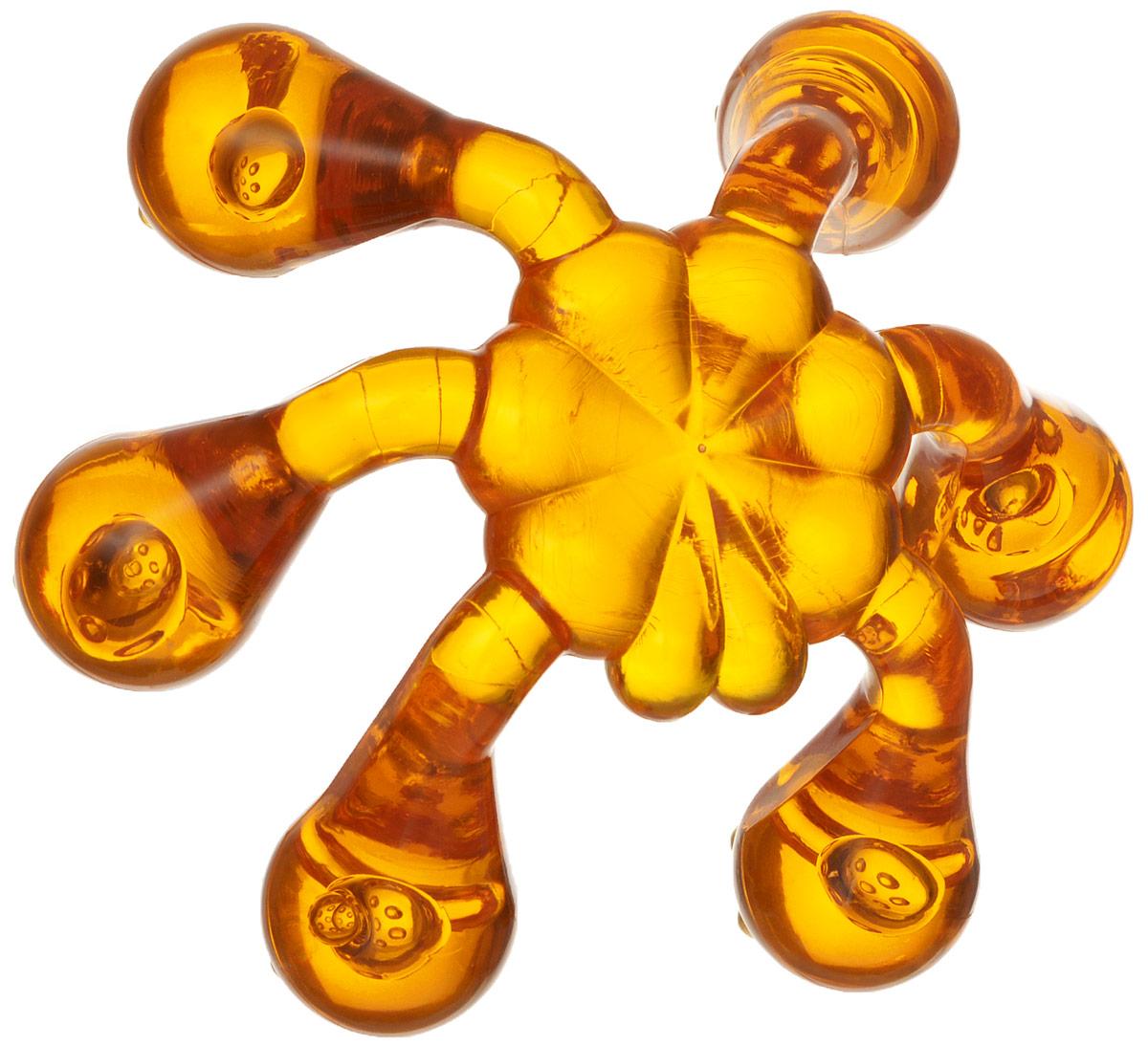 Лапонька-краб Мануальный массажер, цвет: оранжевый