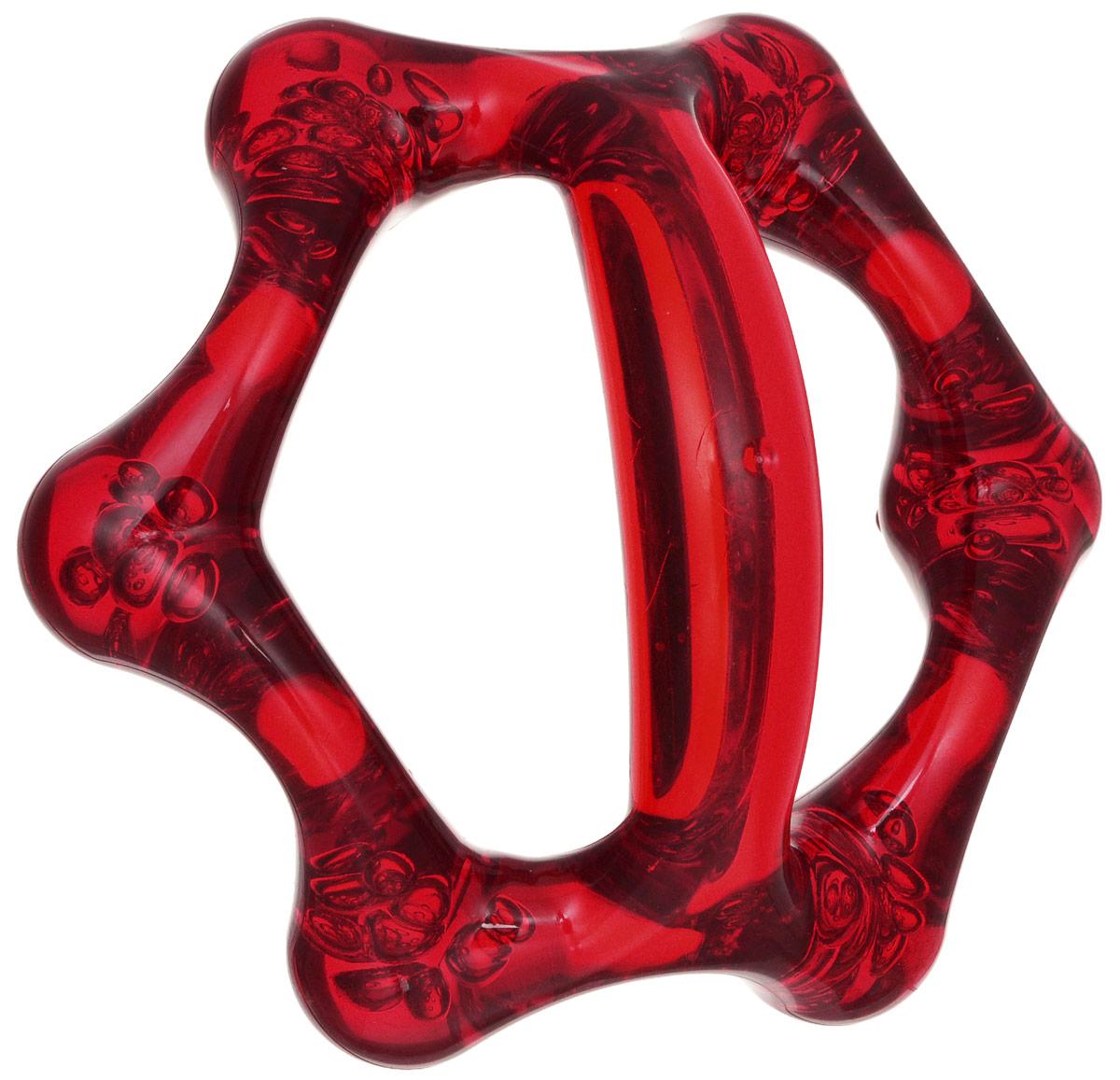 Лапонька-6 Мануальный массажер, цвет: красный