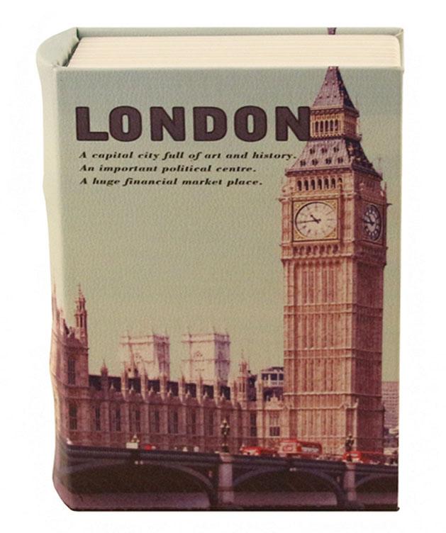 Книга-сейф Win Max Лондон, 24х17х6 см. 184416184416