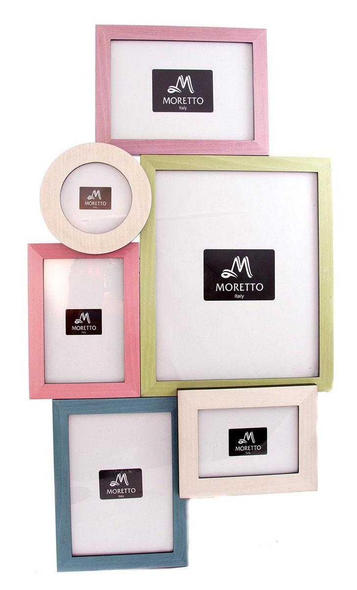 Фоторамка-коллаж Moretto, на 6 фото, 64х2х36 см. 238002238002