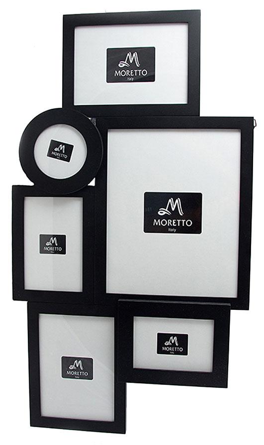 Фоторамка-коллаж Moretto, на 6 фото, 64х2х36 см. 238006238006