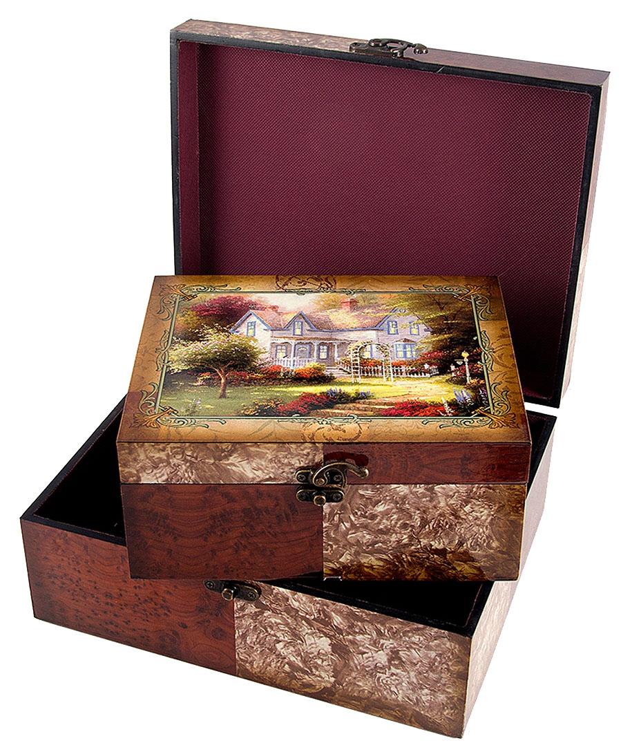 Набор сундучков Roura Decoracion, 2 шт, 30х24х12 см. 3466434664