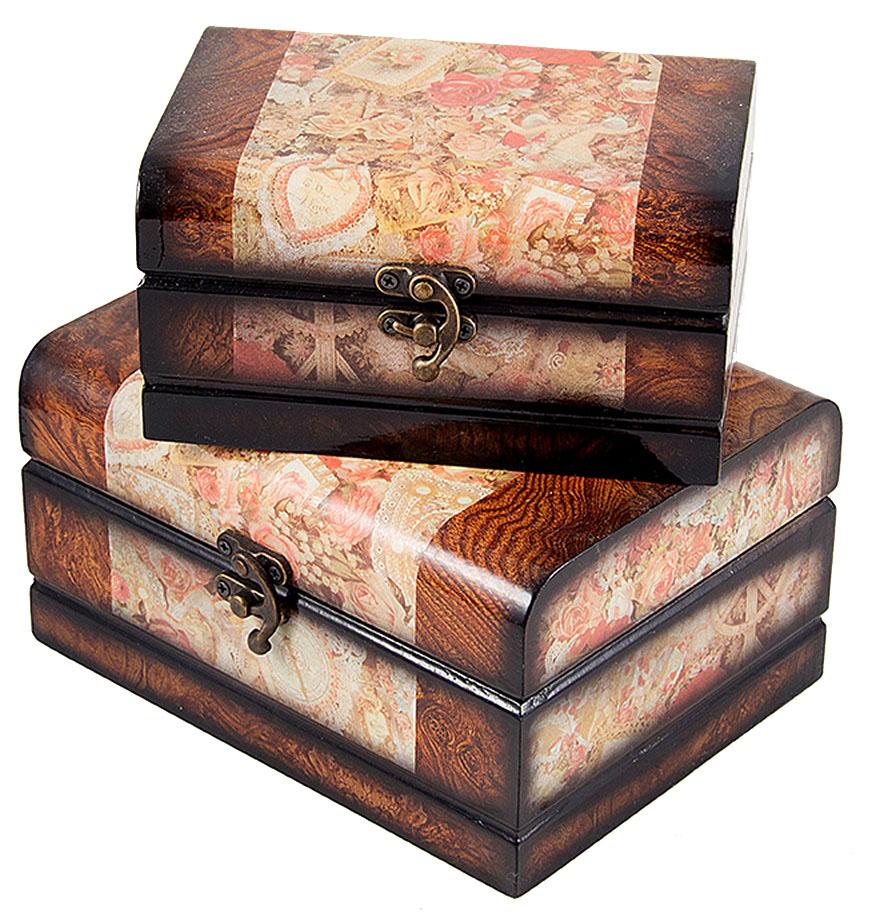 Набор сундучков Roura Decoracion, 2 шт, 20х15х10 см. 3466534665