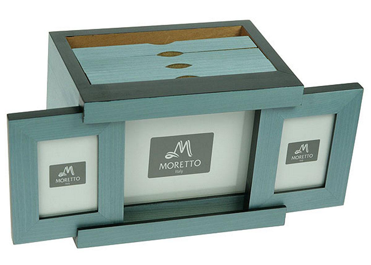 Архивный фотоальбом Moretto, на 72 фото, 20х14х15 см. 3818338183