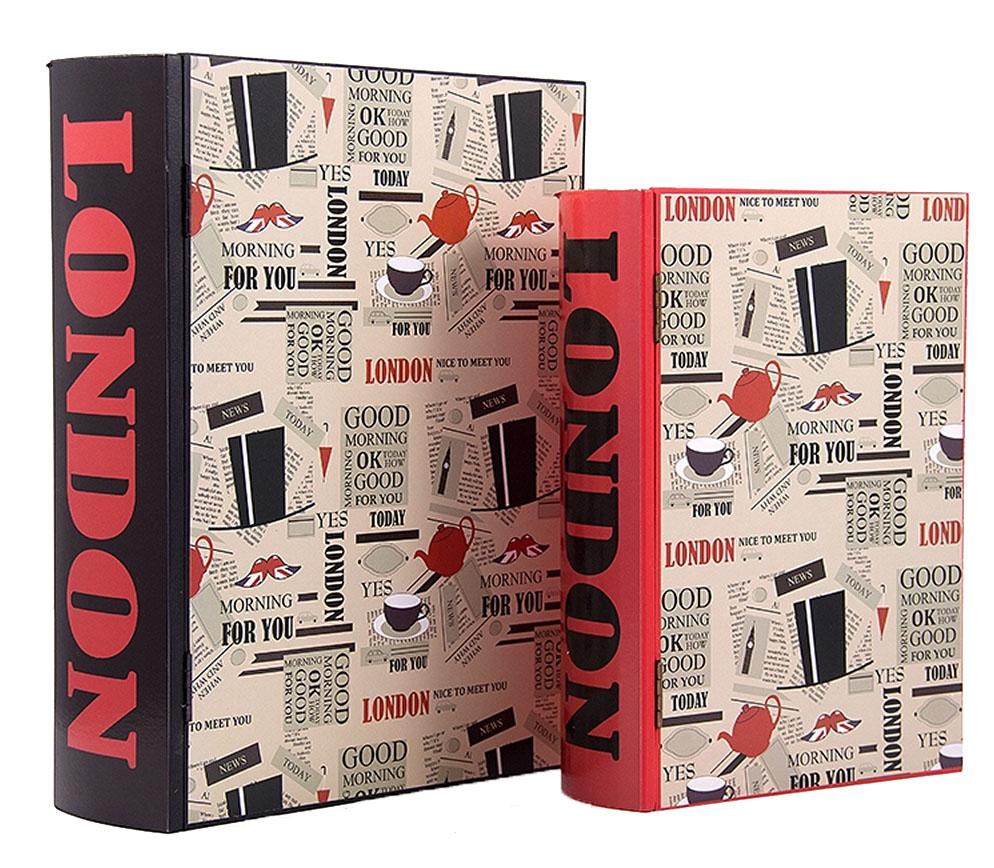 Набор шкатулок-фолиантов Win Max Лондон, 27х21х7 см. 3871738717