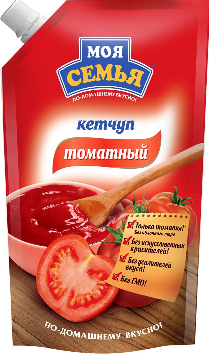 Моя семья кетчуп Томатный, 330 г