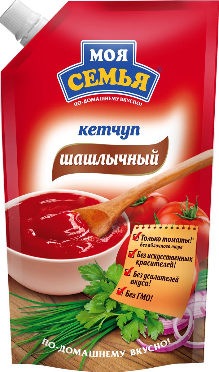 Моя семья кетчуп Шашлычный, 330 г
