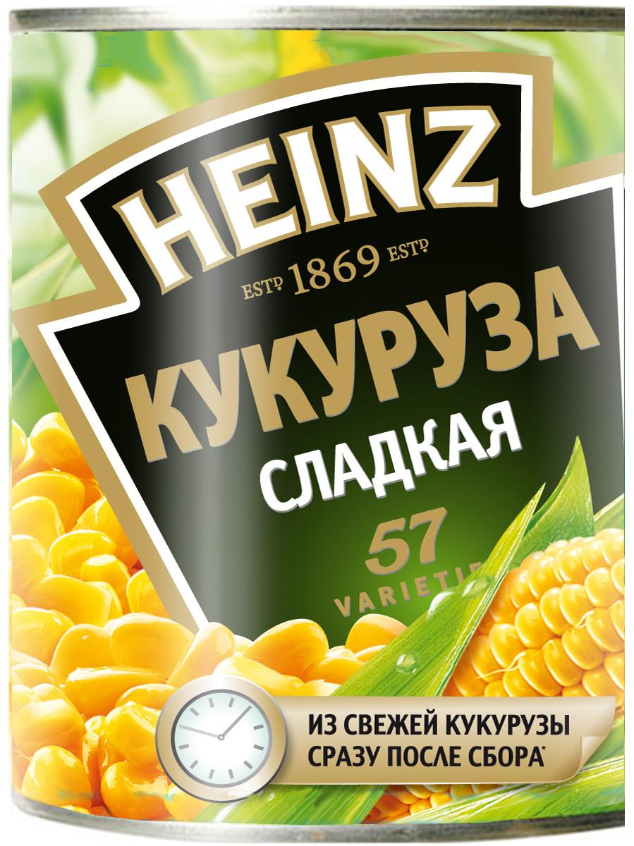 Heinz кукуруза 340 г