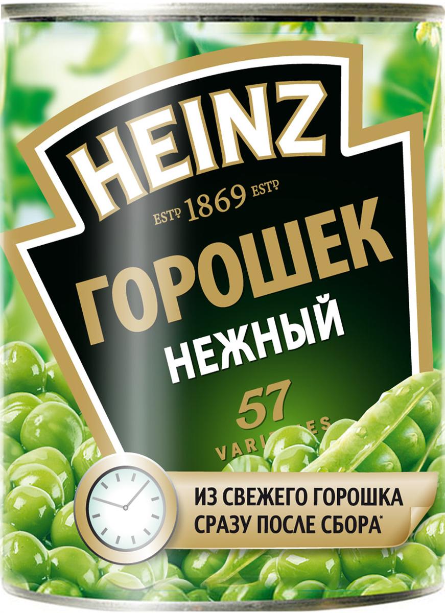 Heinz горошек, 390 г