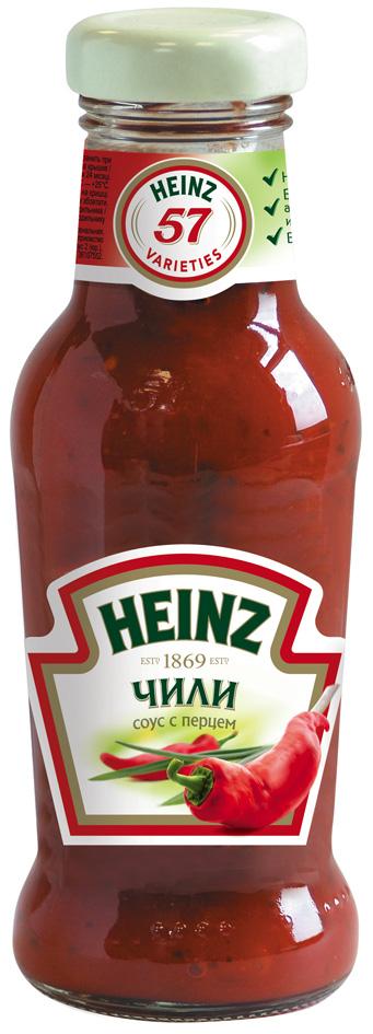 Heinz cоус Томатный Чили, 250 мл