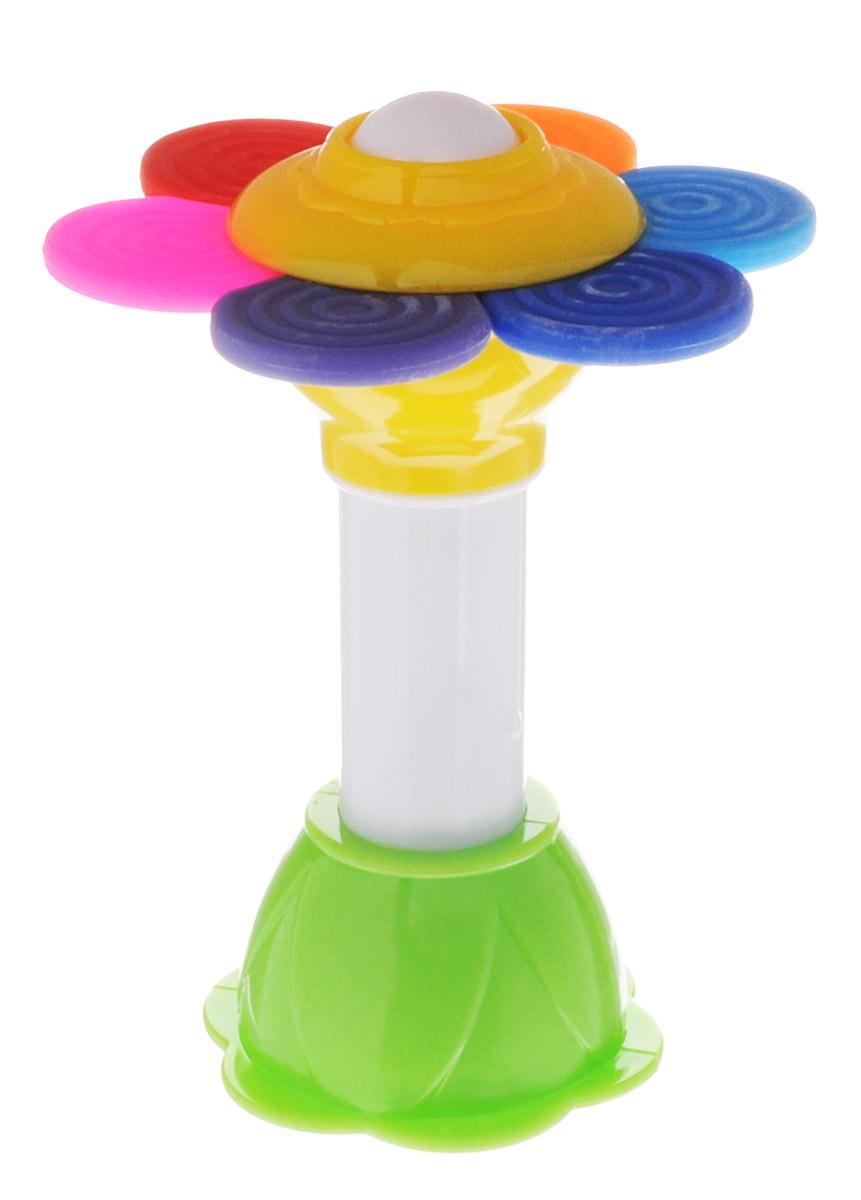 Stellar Погремушка Ромашка1595Погремушка Stellar Ромашка создана с заботой о вашем малыше. Лепестки ромашки изготовлены из безопасного мягкого материала и служат в качестве прорезывателя. Погремушка имеет множество интересных функций, способных увлечь вашего малыша на продолжительное время (двухцветный шарик крутится, разноцветные шарики за прозрачным окошком пересыпаются, основание Ромашки можно вращать), а если потрясти вверх-вниз погремушку, то она издаст необычные звуки. А еще малыша обязательно заинтересует блестящее зеркальце на дне погремушки. Во время игры с погремушкой Stellar Ромашка малыш будет каждый раз обнаруживать что-то новое и удивляться своему открытию.