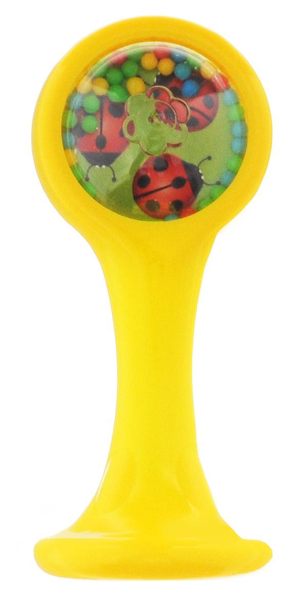 Stellar Маракас1917Маракас Stellar - это самый простой инструмент, который познакомит малыша с миром звуков и музыки. Игрушка выполнена из безопасного материала и имеет удобную ручку. При встряхивании маракаса раздается струящийся звук, который создают разноцветные шарики, перекатывающиеся внутри маракаса. С помощью маракаса маленький ребенок сможет научиться фокусировать взгляд, а малыш постарше сможет самостоятельно держать игрушку и пытаться создать ритмичные звуки на радость своим родителям. Игрушка развивает цветовосприятие, тактильную чувствительность, мелкую моторику. Формирует зрительно-моторную и зрительно-слуховую координацию.